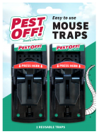 Pestoff Mouse Trap Twin Pack